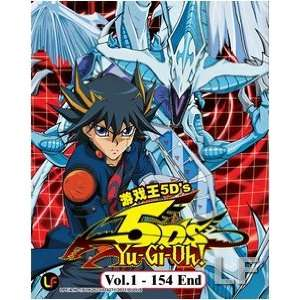 Yu Gi Oh 5Ds TV Series Episodes 1 154 Anime DVD Set