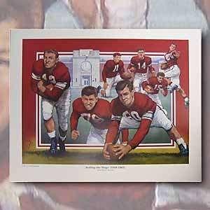 Setting the Stage (1949 1961) 100 Years of Nebraska Football Print