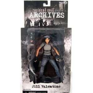 NECA Resident Evil Archives Jill Valentine (blue) Toys & Games