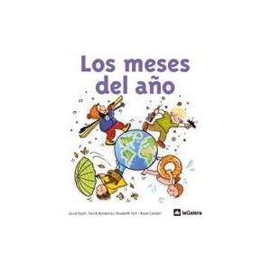 Los meses del ano (9788424632557) Roser Calafell Books