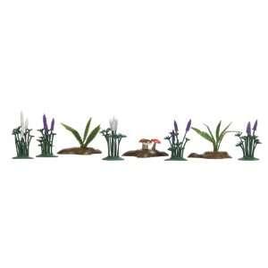 Busch 1234 Lupines, Ferns & Mushrooms: Toys & Games