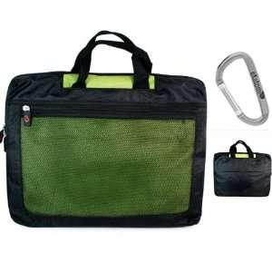 Green Laptop Bag for 15.6 inch Gateway NV55 C17U Notebook