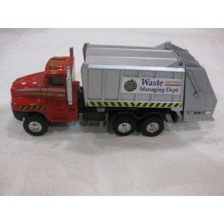 Die Cast City Garbage Truck Edition Waste Management Dept. Series