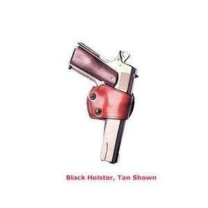 Jak Slide Belt Holster, 1911s, Right Hand, Leather, Black