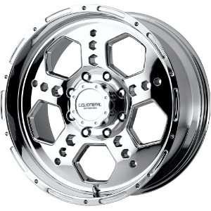 Liquid Metal Gatlin Series Chrome Wheel (17x9/8x165.1mm): Automotive