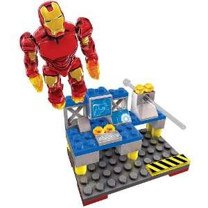 Mega Bloks Ironman 2 Aerial Attack Mark 4 Toys & Games