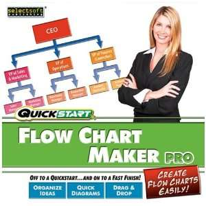 Mps/Selectsoft Quickstart Flow Chart Maker Pro   Complete package   1
