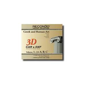 and Roman Art, 3D Content Collection (CAR , DXF Formats): Electronics