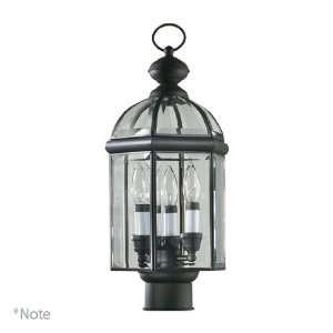 Quorum International 734 3 33 3 Light Outdoor Post Lantern