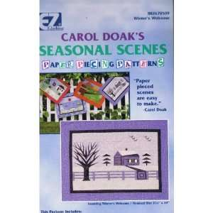 Carol Doaks Seasonal Scenes   Winters Welcome [Paper