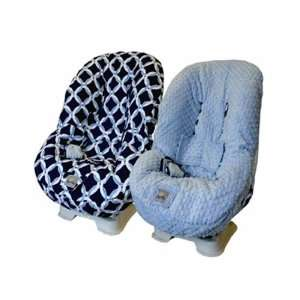 Social Circle Blue Toddler Car Seat Cover Baby