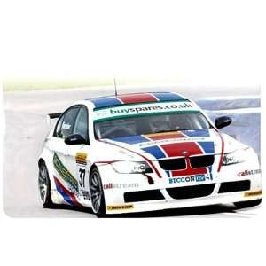 1/32 Scalextric Analog Slot Cars   BMW 320si   No. 37