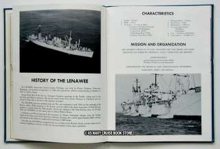 USS LENAWEE APA 195 CRUISE BOOK 1961 1962