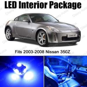 Nissan 350Z BLUE Interior LED Package (5 Pieces