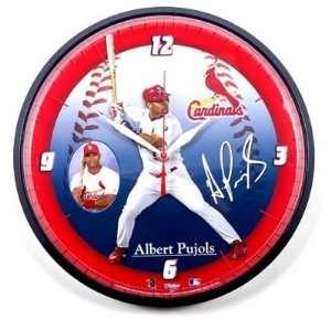 St. Louis Cardinals Albert Puljos Wincraft Wall Clock