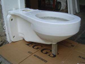 Standard 4049 F F4049 3.5 gallon wall hung toilet ROUND bowl WHITE