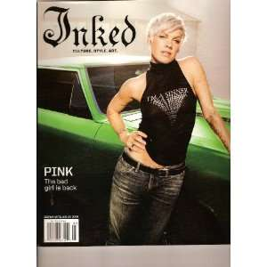 Inked Tattoo, Culture, Style, Art Magazine (PINK, the bad