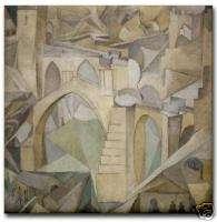 Diego Rivera Ceramic Art Tile Puente San Martin Toledo