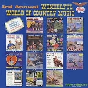 3rd Annual, Wonderful World of Country Music, [Lp, Vinyl