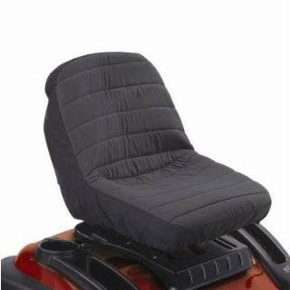 Classic Accessories Lawn Mower Seat Cover   Fits Backrests up to 12in