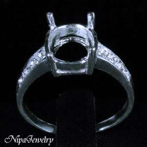 Ring Setting Sterling Silver 8x10mm.Oval #7