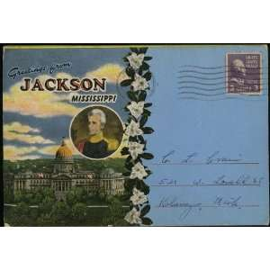 Souvenir Postcard Packet / Folder) (F 120) Andrew Jackson Books