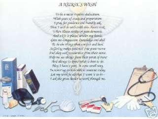 NURSE Response to Crabbit Old Woman Poem Prayer Print