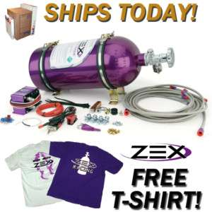 ZEX 1999 up VORTEC CHEVY SILVERADO TRUCK NITROUS KIT