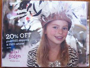 Mini Boden Catalog Winter 2010 Children Fashion Shoes