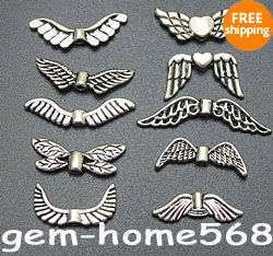 42 Mixed Assorted Tibetan Silver Toggle Clasps C030