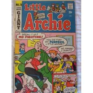 Little Archie Comic Book (Dance Boy Dance, 70) John Goldwater Books