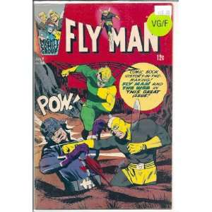 Fly Man # 38, 5.0 VG/FN Mighty Comics Group Archie  Books