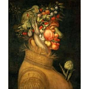 FRAMED oil paintings   Giuseppe Arcimboldo   24 x 30