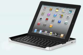 ZaggMate Wireless Keyboard Aluminum Stand Case for The New iPad 3/2