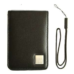 New Genuine CANON IXUS Compact Camera Soft Leather Case Pouch For 75