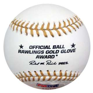 SMITH AUTOGRAPHED SIGNED MLB GOLD GLOVE BASEBALL 13X GG PSA/DNA