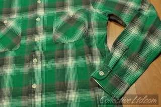 Polo Ralph Lauren L/S Plaid Flannel Button Up GREEN M