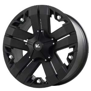 Recon Matte Black Wheel with Painted Finish (17x9/6x5.5) Automotive