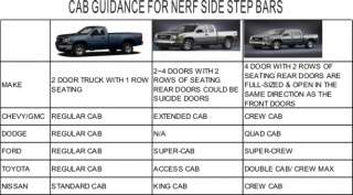 01 11 2011 GMC Sierra 1500 Crew Cab Nerf Bars Side Step