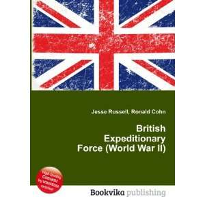 British Expeditionary Force (World War II) Ronald Cohn