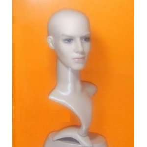 Male Man Manikin Mannequin Head Display Cap Hat Wig