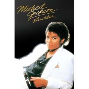 Michael Jackson Thriller Album Cover, Music Poster Print