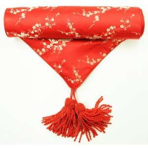 Traditional Chinese Decorative Table Runner   Red with