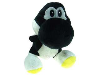 Nintendo Super Mario Bros Yoshi 12 Plush Figure BLACK