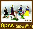 PCS./set Disney Princess Snow White the Seven Dwarfs