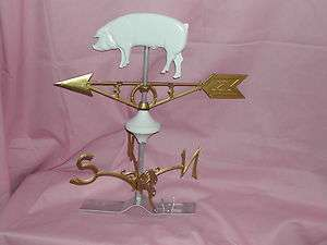 Yorkshire White Hog Pig Weather Vane Closeout Sale