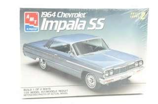 Vtg AMT ERTL 1964 Chevrolet Impala SS 1/25 Model NIB