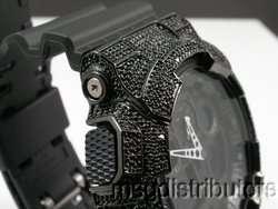 CASIO G SHOCK GA100 .20CT BLACK DIAMOND X LARGE WATCH