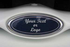 Custom made emblem overlay decal fits Ford trucks