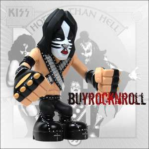 Collectible 2002 KISS Love Gun Hotter Than Hell Gruntz Figure Peter